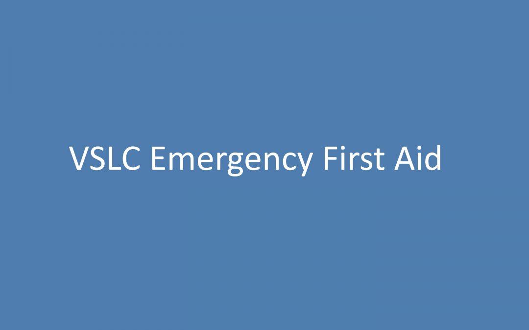 VSLC Emergency First Aid