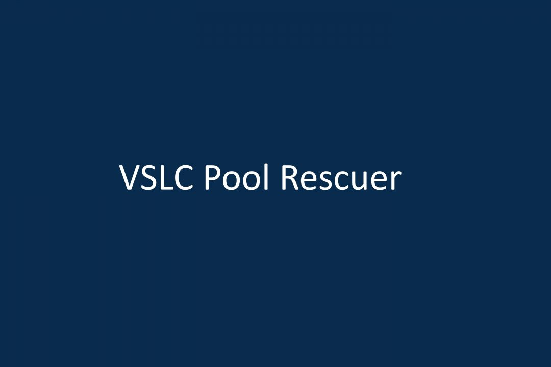 VSLC Pool Rescuer Qualification